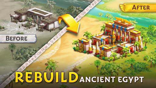 Pyramid of Mahjong: A tile matching city puzzle  screenshots 20