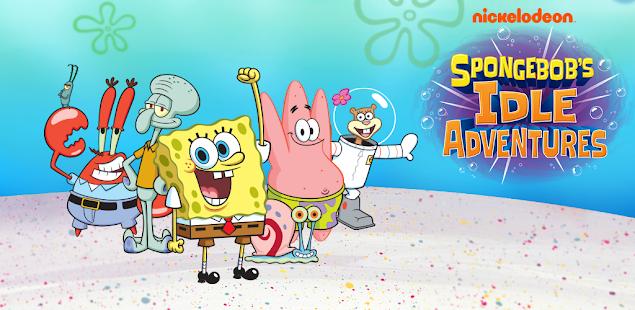 spongebob's idle adventures hack