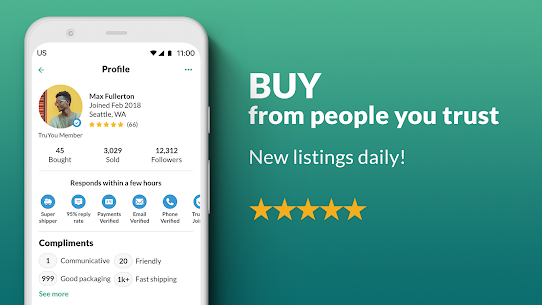 OfferUp  Buy. Sell. Letgo. Mobile marketplace Apk 5