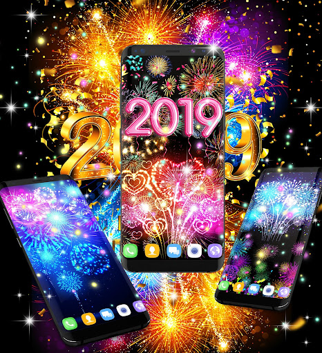 Happy new year 2021 live wallpaper 16.6 Screenshots 16