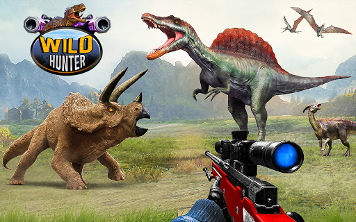 Wild Dinosaur Hunting Games 1.32 Screenshots 11