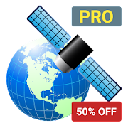 GPS Coordinate Display Pro  Icon