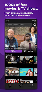 Roku Channel: Free streaming for live TV & movies 1.5.0.644429 screenshots 1