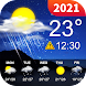 天気予報とローカルレーダー-Nuts天気 - Androidアプリ