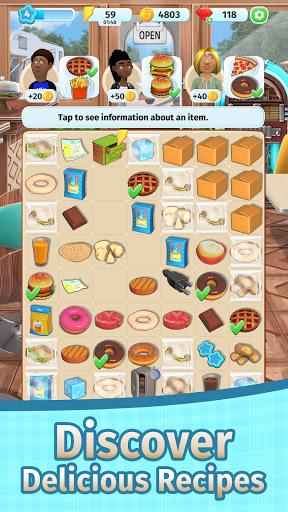 Tasty Merge - Delicious Restaurant Game 1.4 screenshots 3