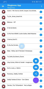 Free Reggaeton Ringtones 1.2 screenshots 1