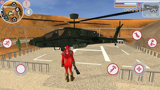 Super Iron Rope Hero - Fighting Gangstar Crime 3.6 Screenshots 1