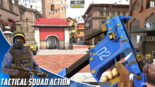 Hazmob FPS : Online multiplayer fps shooting game  screenshots 1