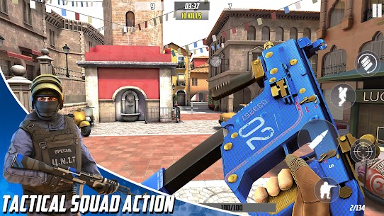 Hazmob FPS : Online Multiplayer FPS Shooting Game Mod Apk 1.1.37 (Endless Game Currency) 1