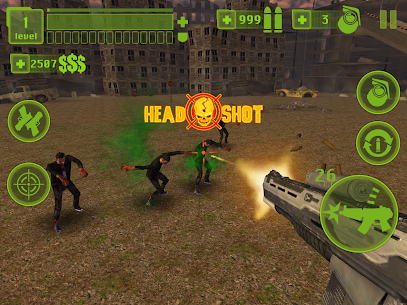 Zombie Hell 3 : Last Stand – FPS Shooter Hack & Cheats Online 5