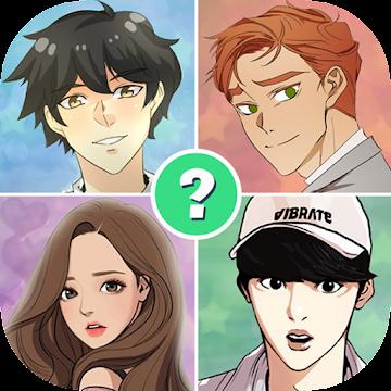 Screenshot 1 de Webtoon Quiz para android