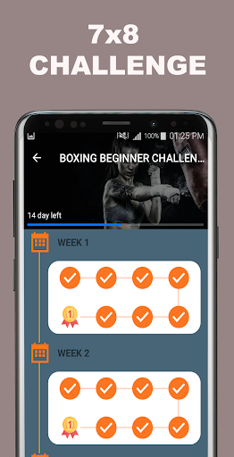 Kickboxing Fitness Trainer - Lose Weight At Home  Screenshots 11