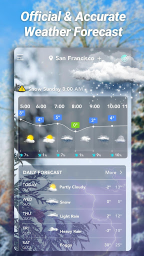 Accurate Weather: Weather Forecast, Clima Widget 1.1.8 Screenshots 6