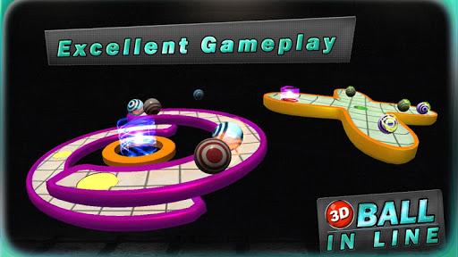 3d ball in line screenshot 3
