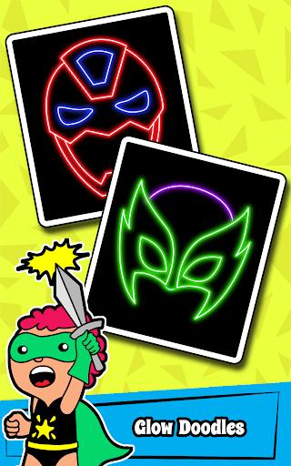 Superhero Coloring Book Game & Comics Drawing book  screenshots 5