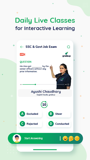 Exam Preparation App: Free Mock Test, Live Classes 9.74 Screenshots 2