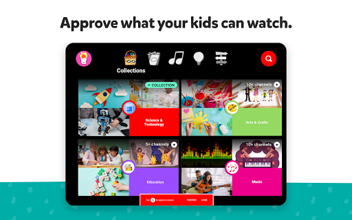YouTube Kids apktram screenshots 14