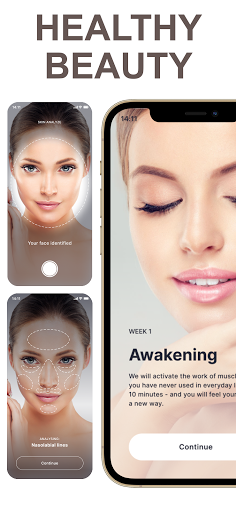 Face Yoga - face exercise for women and skin care  Screenshots 14