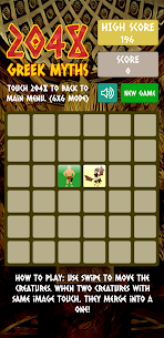 Merge Block Puzzle: 2048 Greek Myths For Android 5