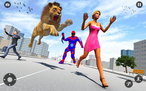 Superhero robot game police hero: rescue mission  Screenshots 21