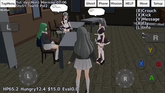School Girls Simulator screenshots apk mod 3