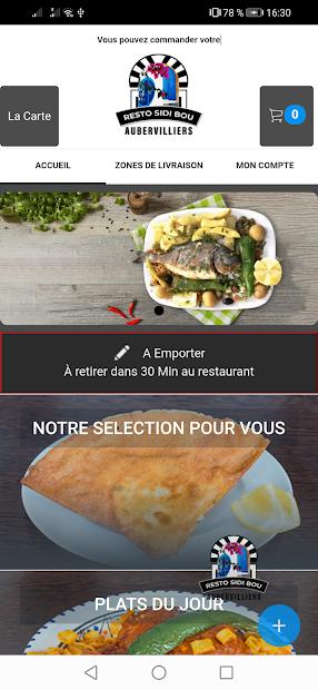 SIDI BOU Aubervilliers screenshot 1