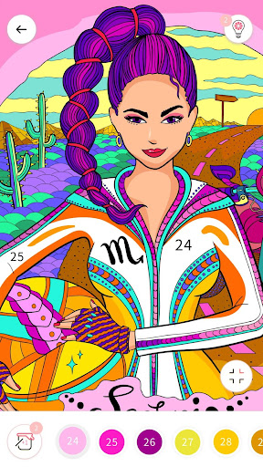 Fun Color by Number Coloring Book Paint Game screenshots 3