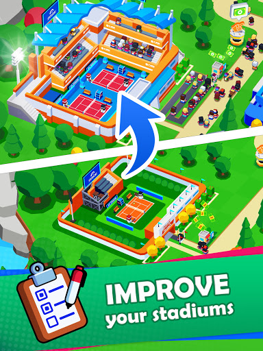 Sports City Tycoon - Idle Sports Games Simulator  screenshots 19