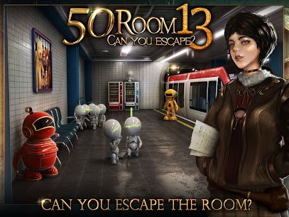 Can you escape the 100 room XIII MOD APK 5 12