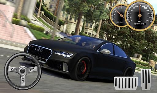 Drive Audi RS7 - City & Parking apkdebit screenshots 2