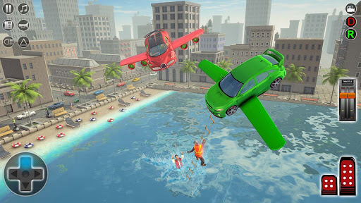 Flying Car Rescue Game 3D: Flying Simulator 1.9 screenshots 3