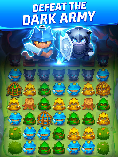 Cat Force - PvP Match 3 Puzzle Game  screenshots 16