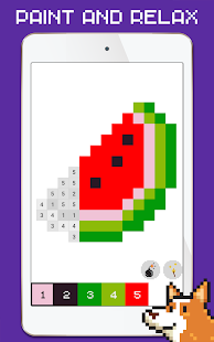 Imagino Color by Number - Pixel art coloring game
