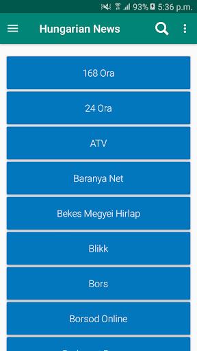Hungary Newspapers App | Hungary News App 7.5 screenshots 7