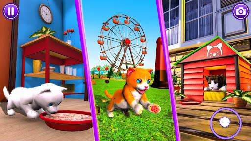Virtual Pet Cat Game: Cute Kitty Cat Simulator android2mod screenshots 2