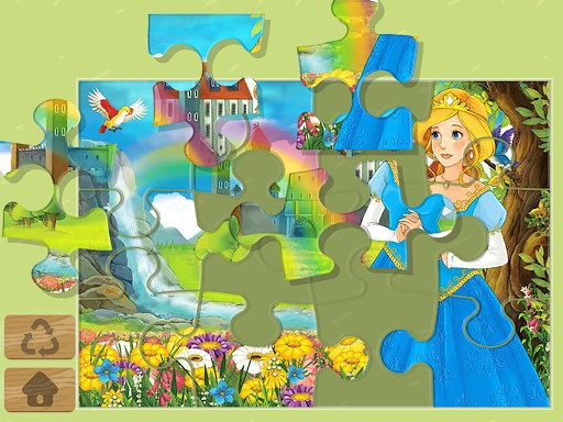 Princess Puzzles and Painting apkpoly screenshots 1