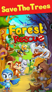 Forest Rescue: Match 3 Puzzle