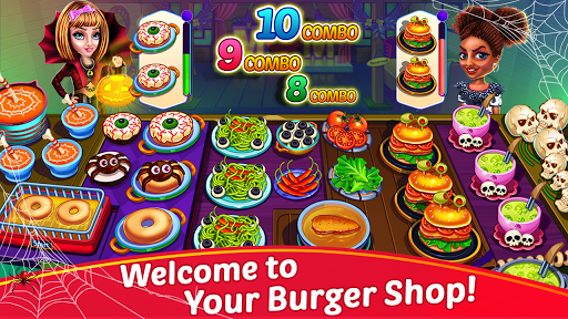 Halloween Cooking : Chef Restaurant Cooking Games apktram screenshots 3