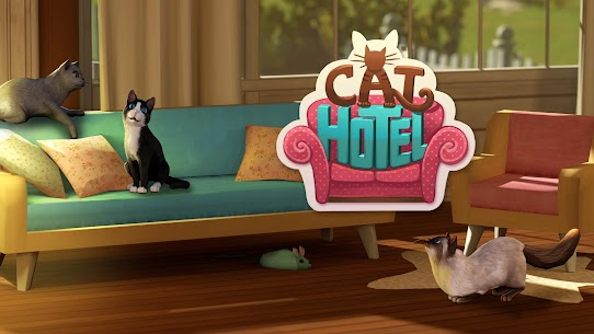 CatHotel – Hotel for cute cats MOD (Unlimited Money) 1
