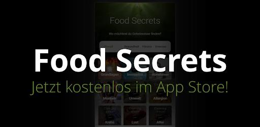 Food Secrets - Finde Geheimnisse deiner Ernährung! .APK Preview 0