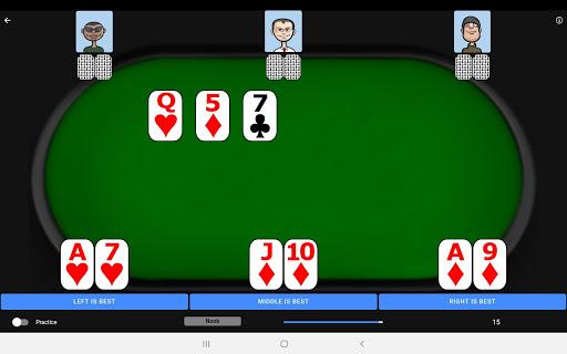 Poker Trainer - Poker Training Exercises 3.1.8 screenshots 13