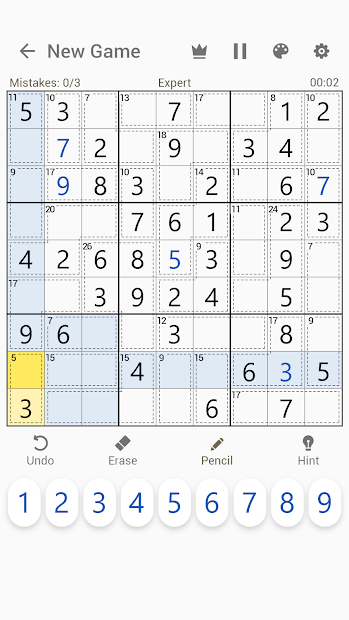 Captura 5 de Killer Sudoku - Free Sudoku Puzzles+ para android