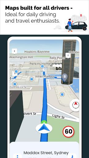 GPS Live Navigation, Maps, Directions and Explore  Screenshots 1