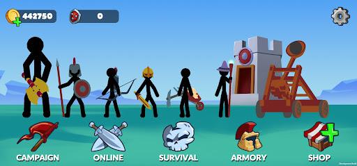 Stickman Battle Empires War  screenshots 1