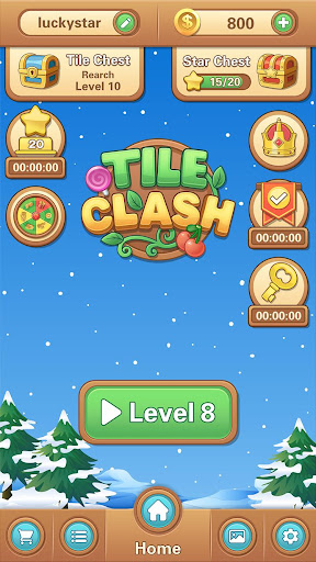 Tile Clash-Block Puzzle Jewel Matching Game android2mod screenshots 6