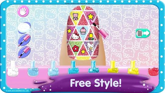Hello Kitty Nail Salon 1.11 Mod Apk [Newest Version] 2