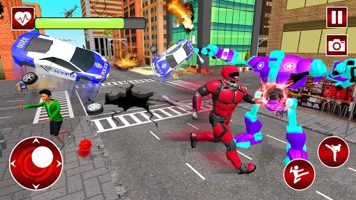 Real Robot Speed Hero apkpoly screenshots 4