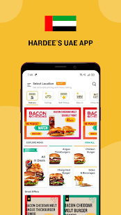 Hardee's UAE-Order fast food online for Delivery!