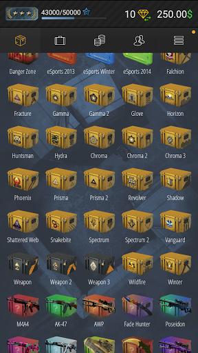 Case Simulator Ultimate - CS go skins box crate 2  screenshots 18
