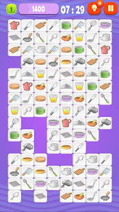 Mahjong Cook - Classic puzzle game about cooking